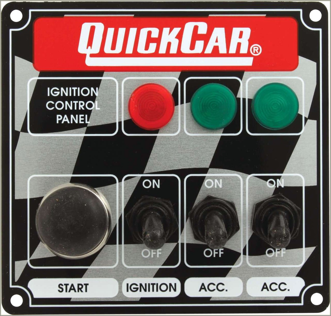 Quick Car Ignition Control Panel Wiring Diagram