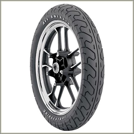 Raised White Letter Motorcycle Tires