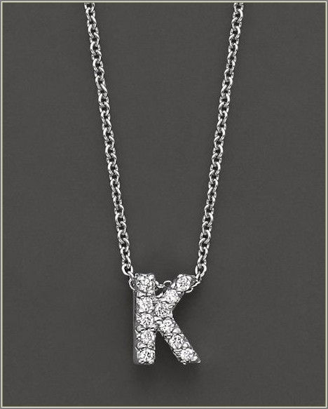 Roberto Coin Love Letter Necklace