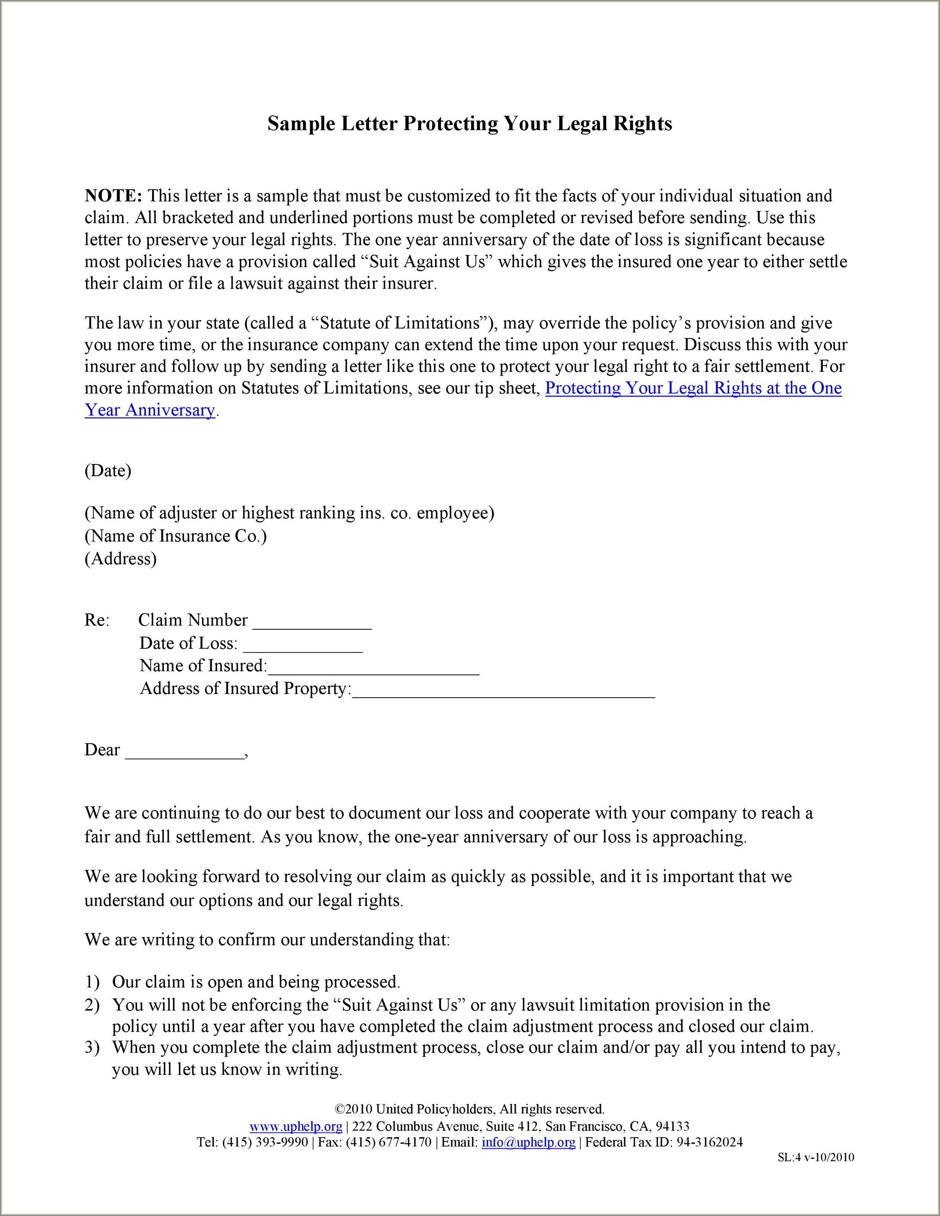 Sample Rejection Letter For Church Position