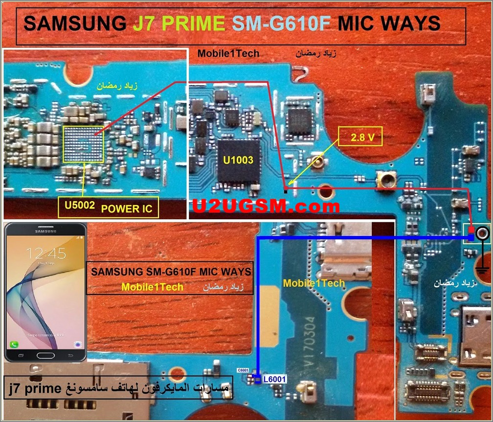 Samsung J6 Schematic Diagram