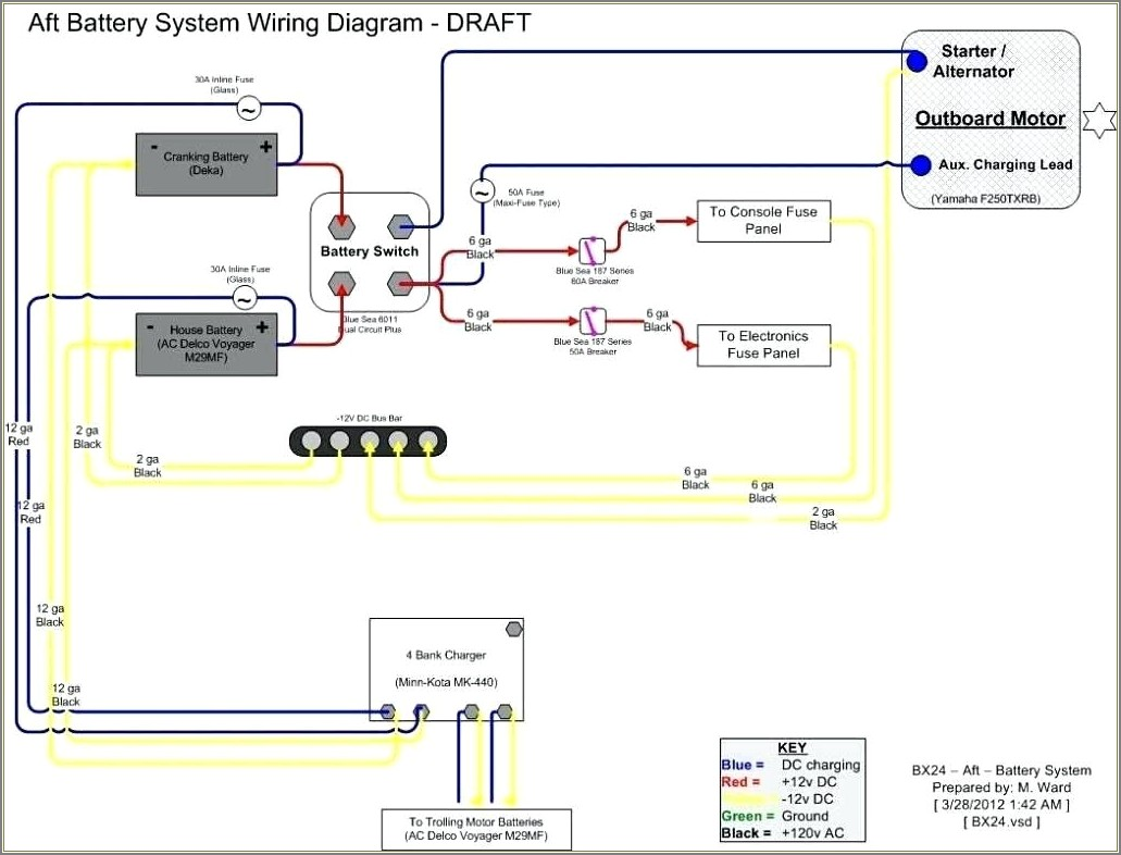 Sea Ray Boat Wiring Diagram