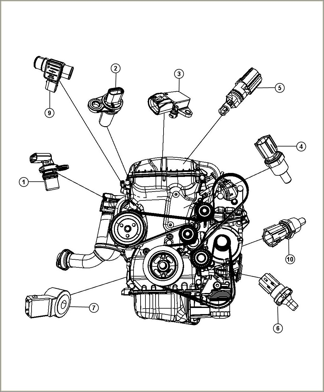 Serpentine Belt Diagram 2012 Chrysler 200