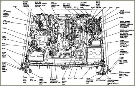 Serpentine Belt Ford F150 Diagram