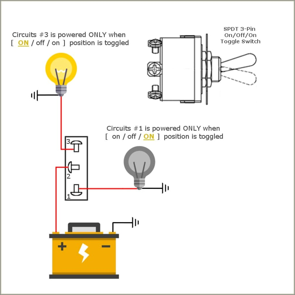 Spdt Toggle Switch Wiring Diagram