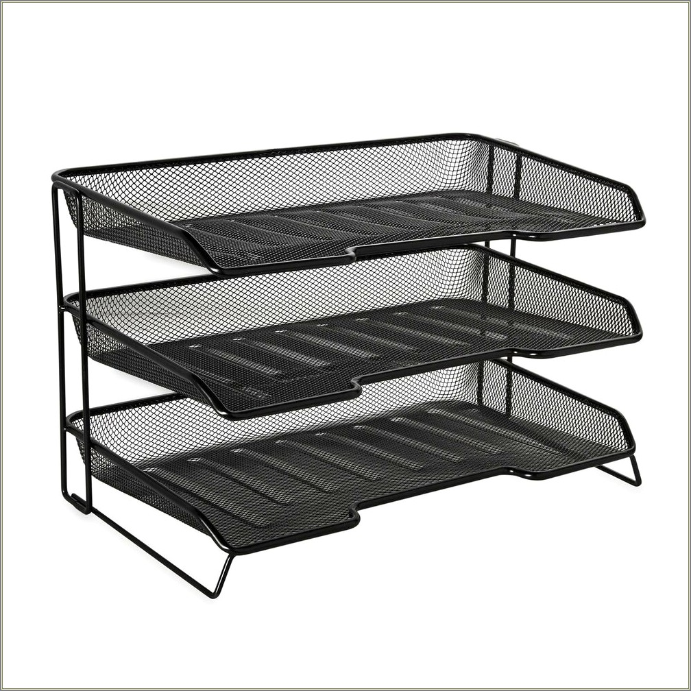 Stackable Letter Size Wire Rack
