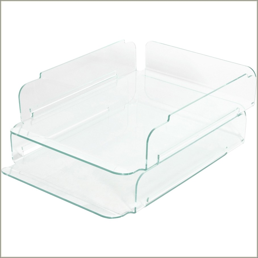 Staples Stacking Letter Trays