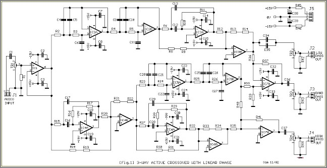 Subwoofer Crossover Circuit Diagram Pdf