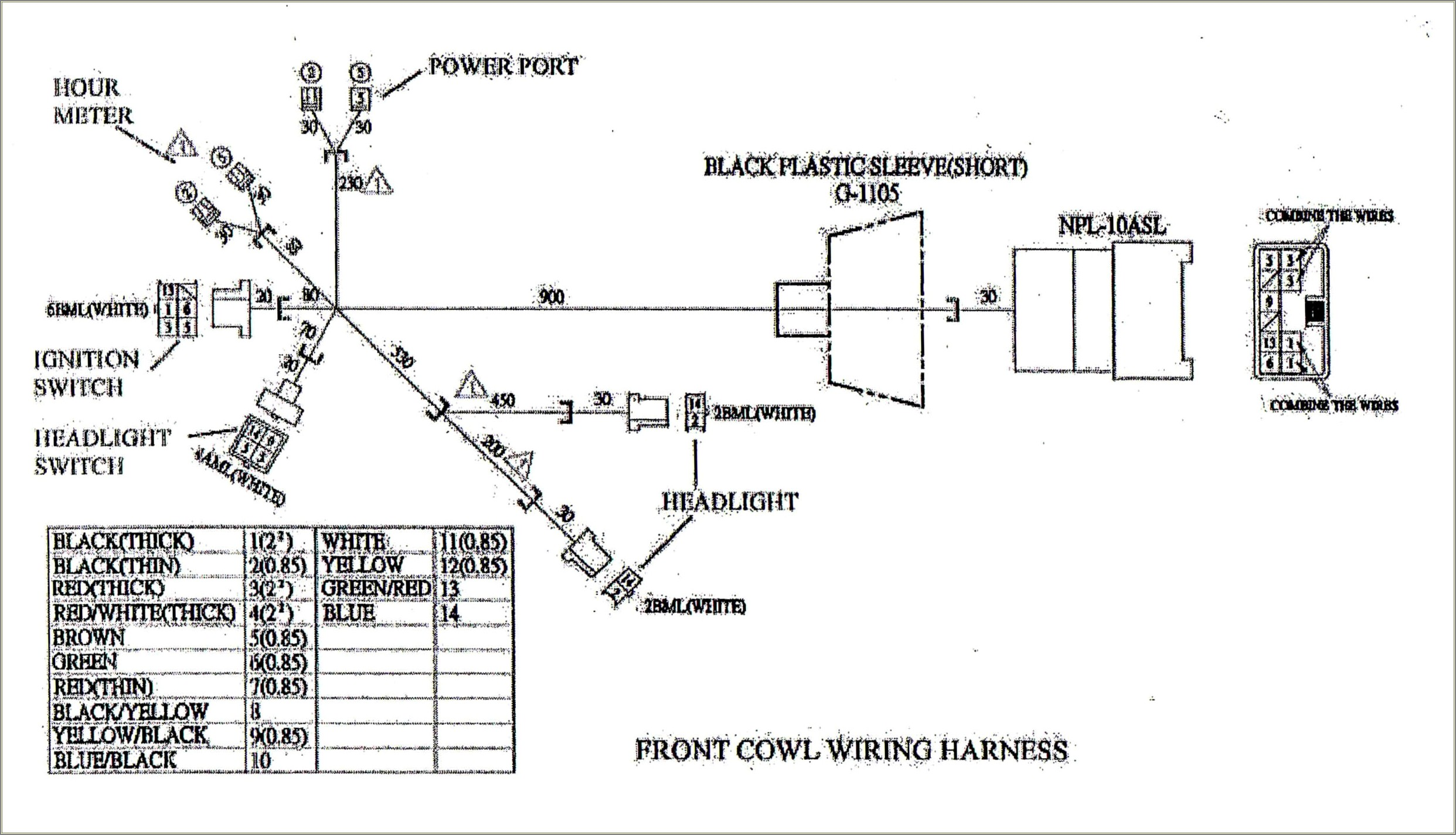 Tecumseh Engine Wiring Diagram