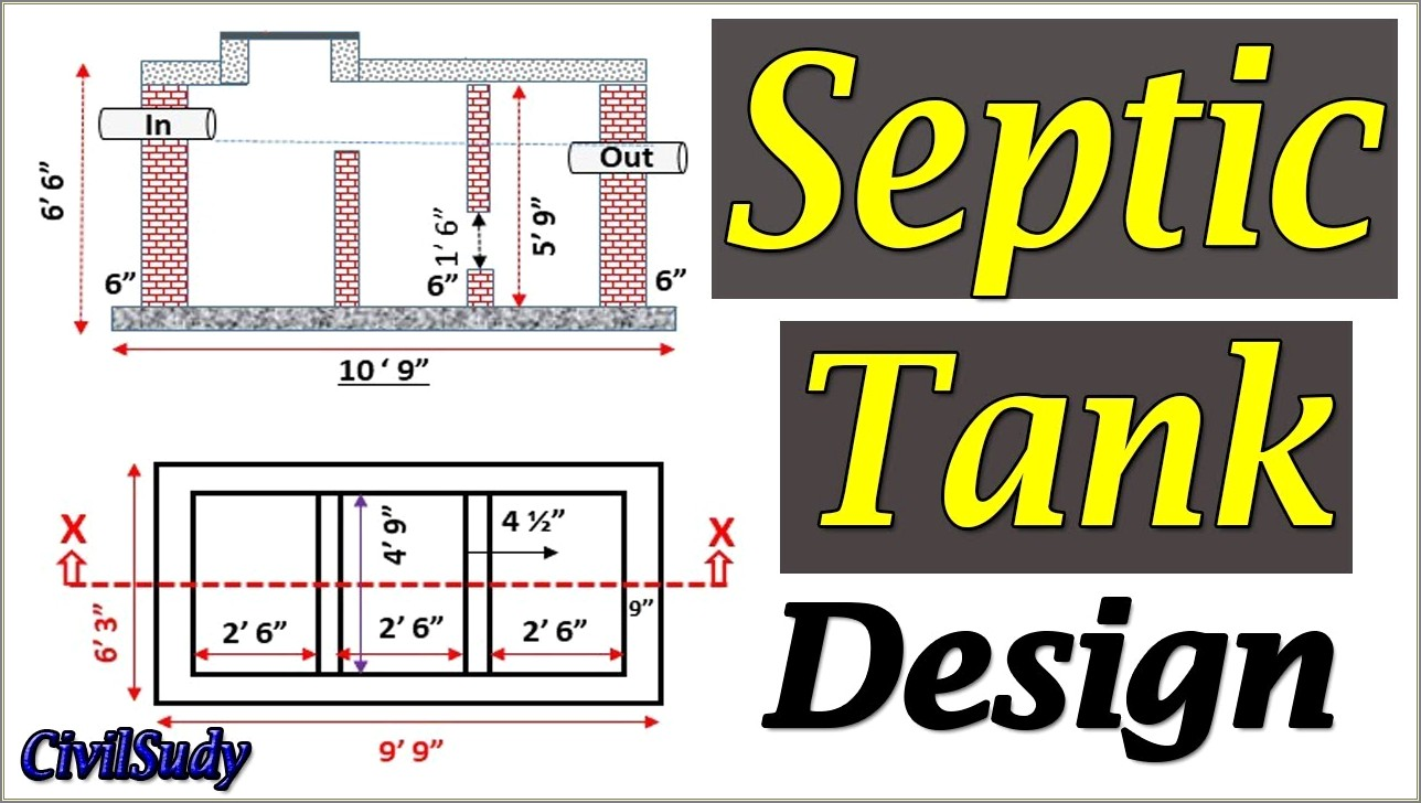 Toilet Septic Tank Diagram