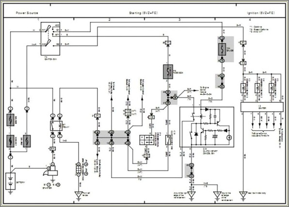 Toyota Tacoma Electrical Wiring Diagram