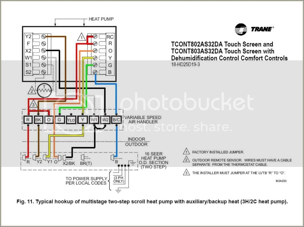 Trane Heat Pump Diagram