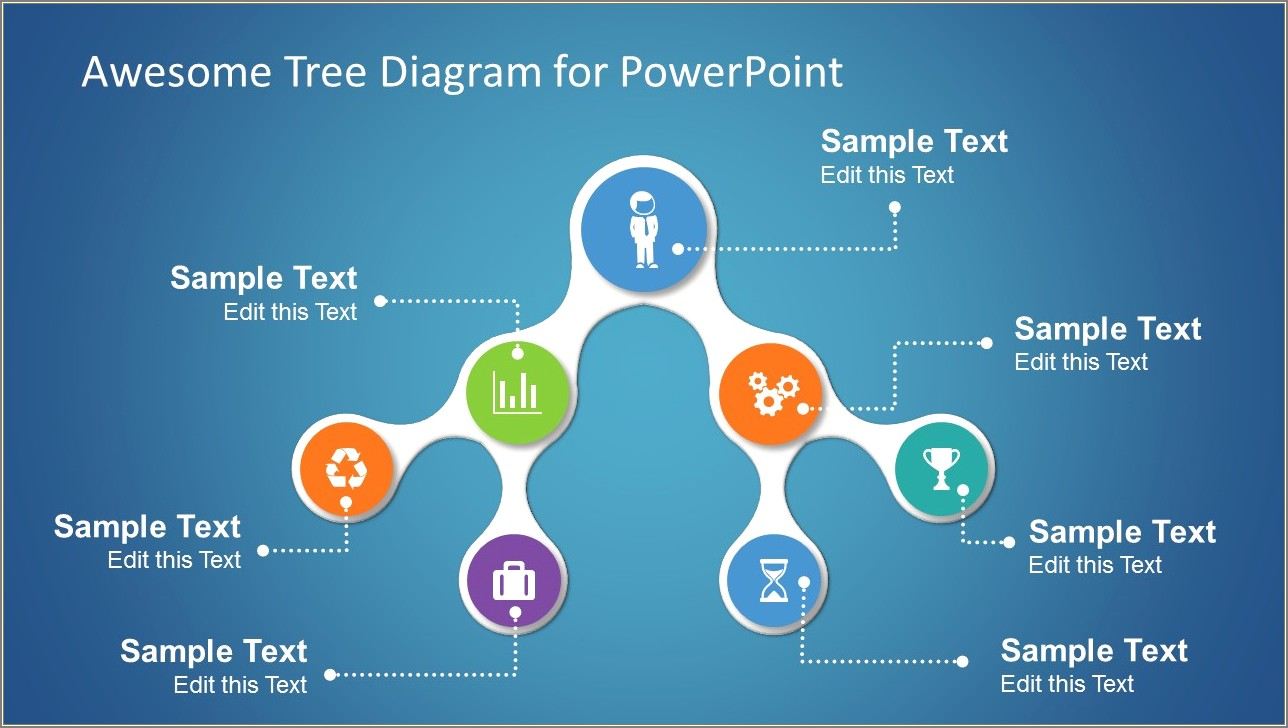 Tree Diagram Template Ppt