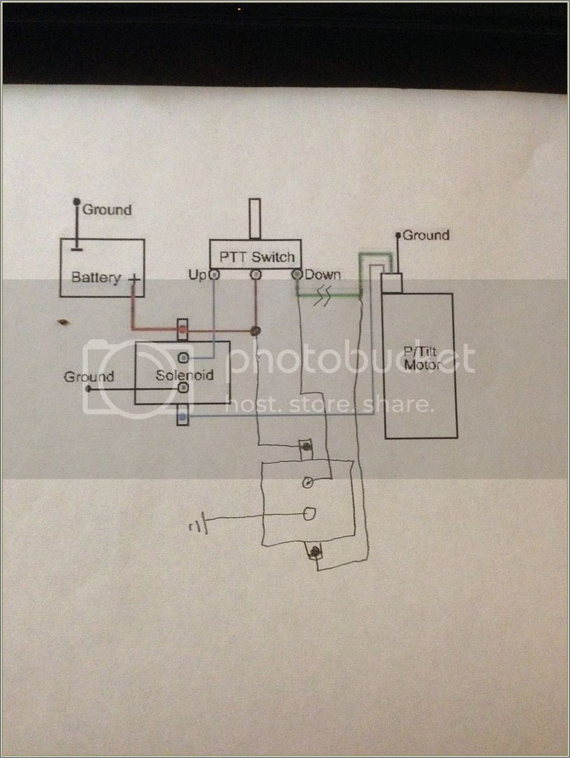 Trim And Tilt Wiring Diagram