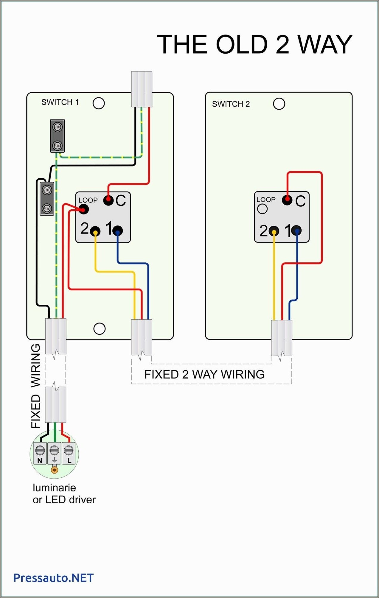 Two Way Switch Wiring Diagram Nz