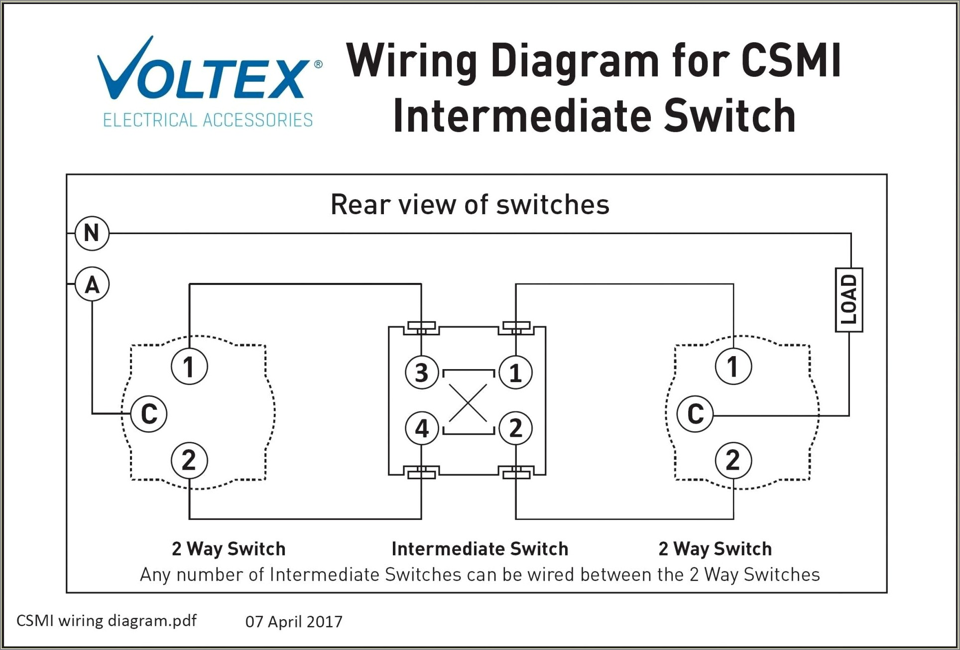 Two Way Switch Wiring Diagram Pdf