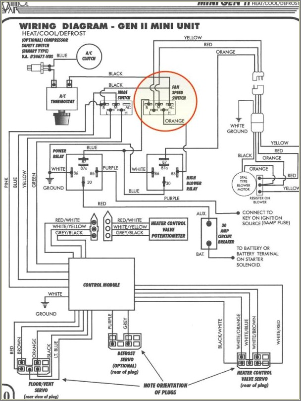 Vintage Air Control Wiring Diagram