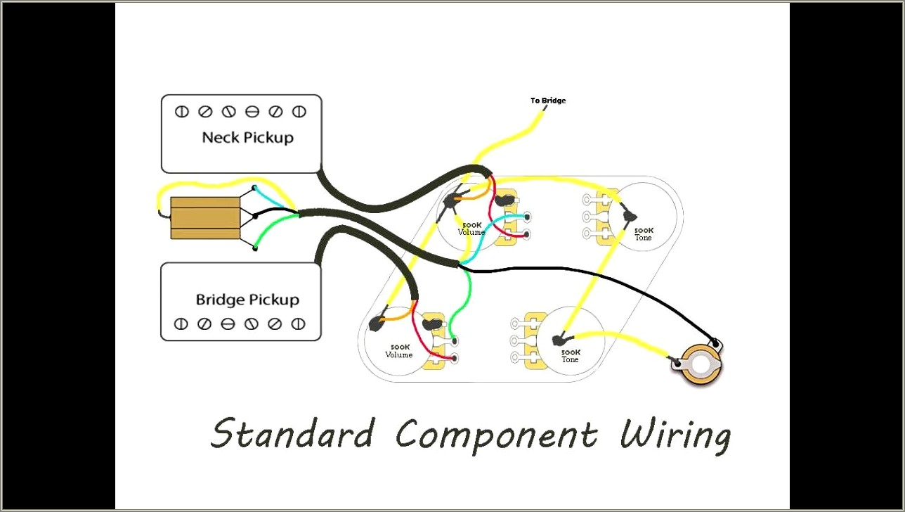 Vintage Les Paul Wiring Diagram