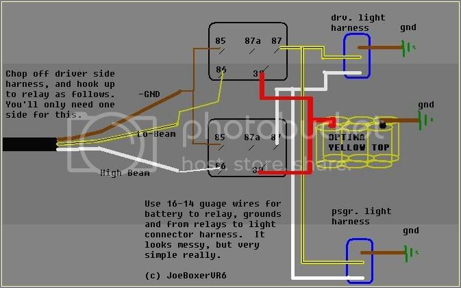 Vw Golf Mk1 Headlight Wiring Diagram