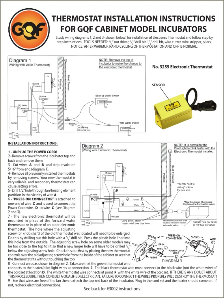 Wafer Thermostat Wiring Diagram