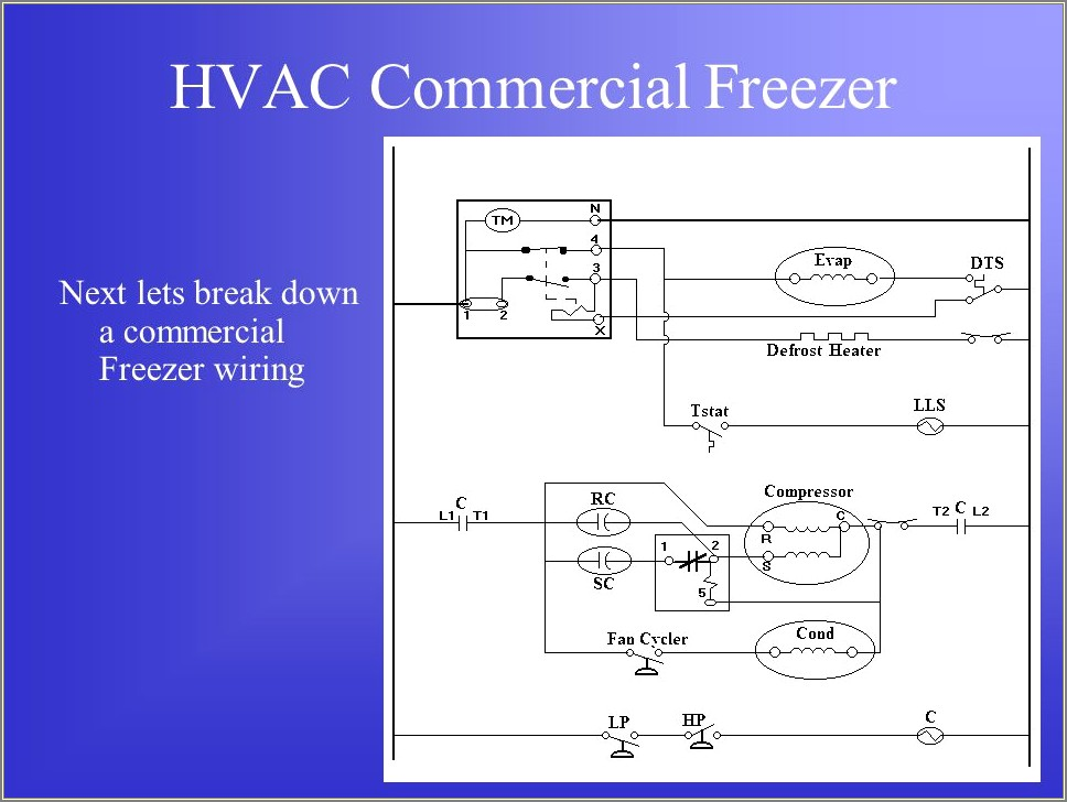 Walk In Freezer Schematic Diagram