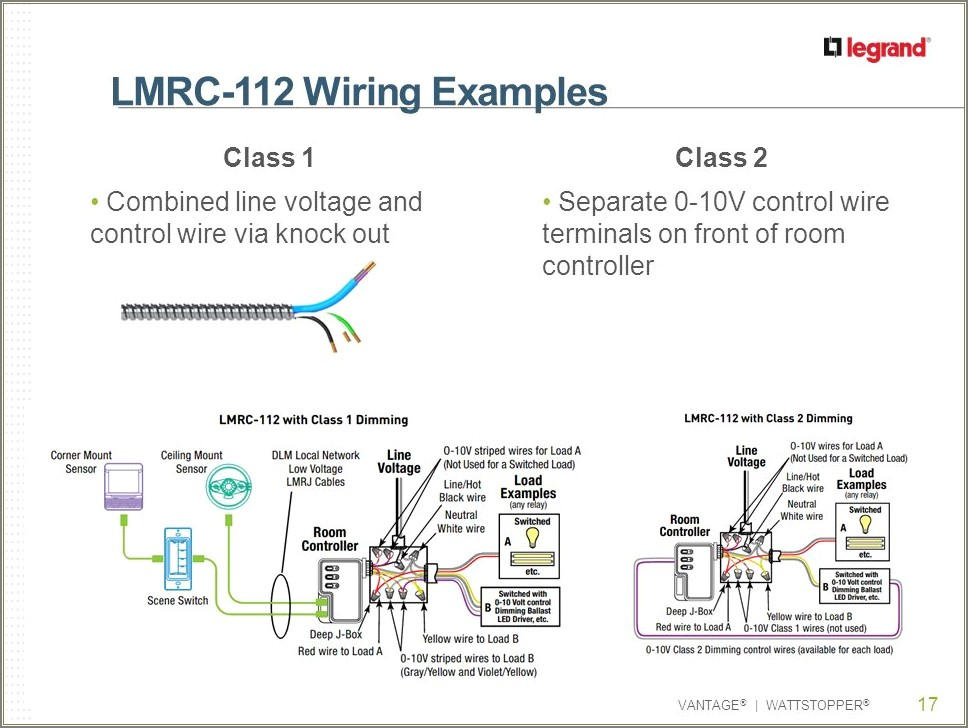Wattstopper Room Controller Wiring Diagram