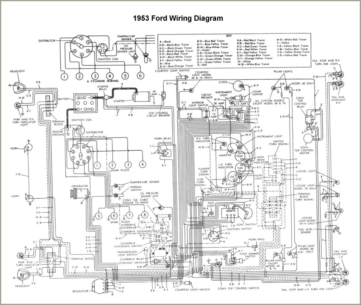 Wiring Diagram For 1953 Ford Jubilee Tractor