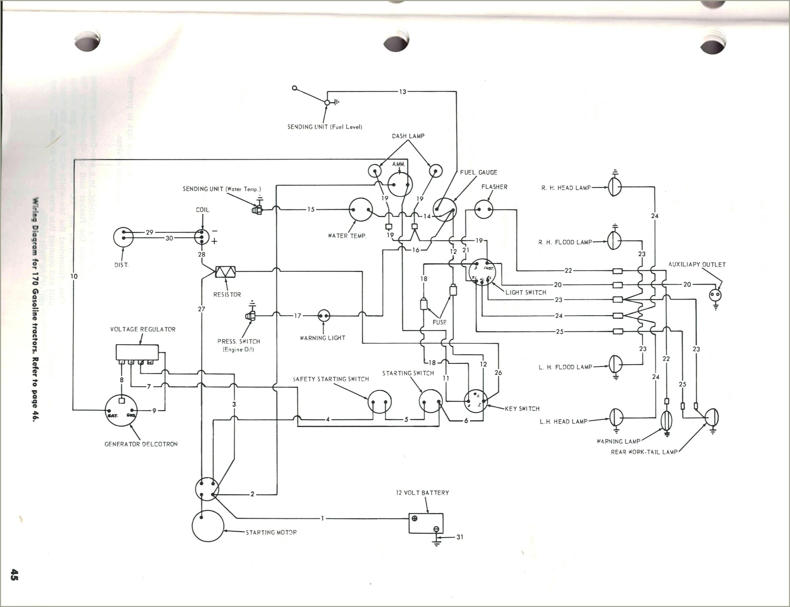 Wiring Diagram For 8n Ford Tractor
