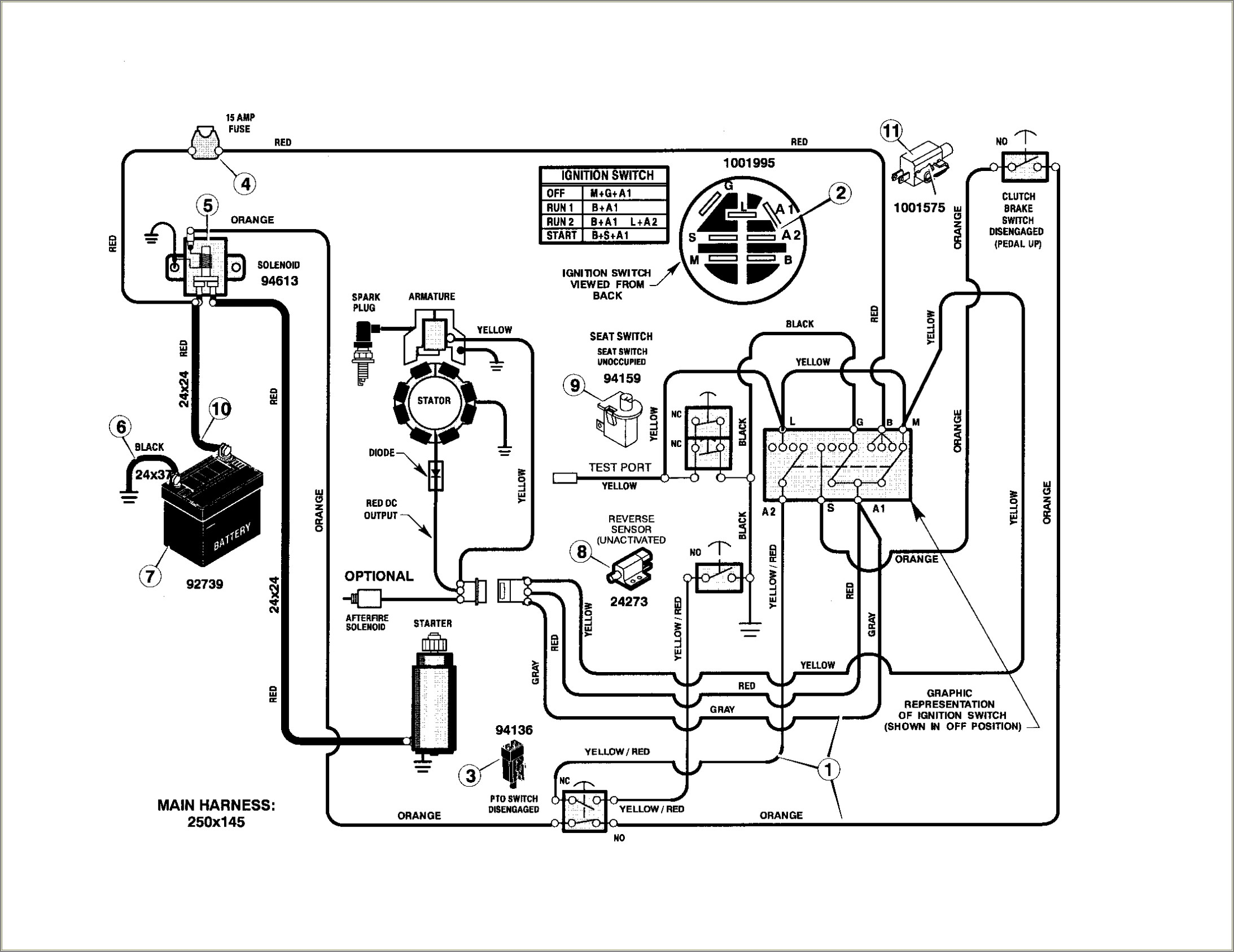 Wiring Diagram For Yardman Riding Mower