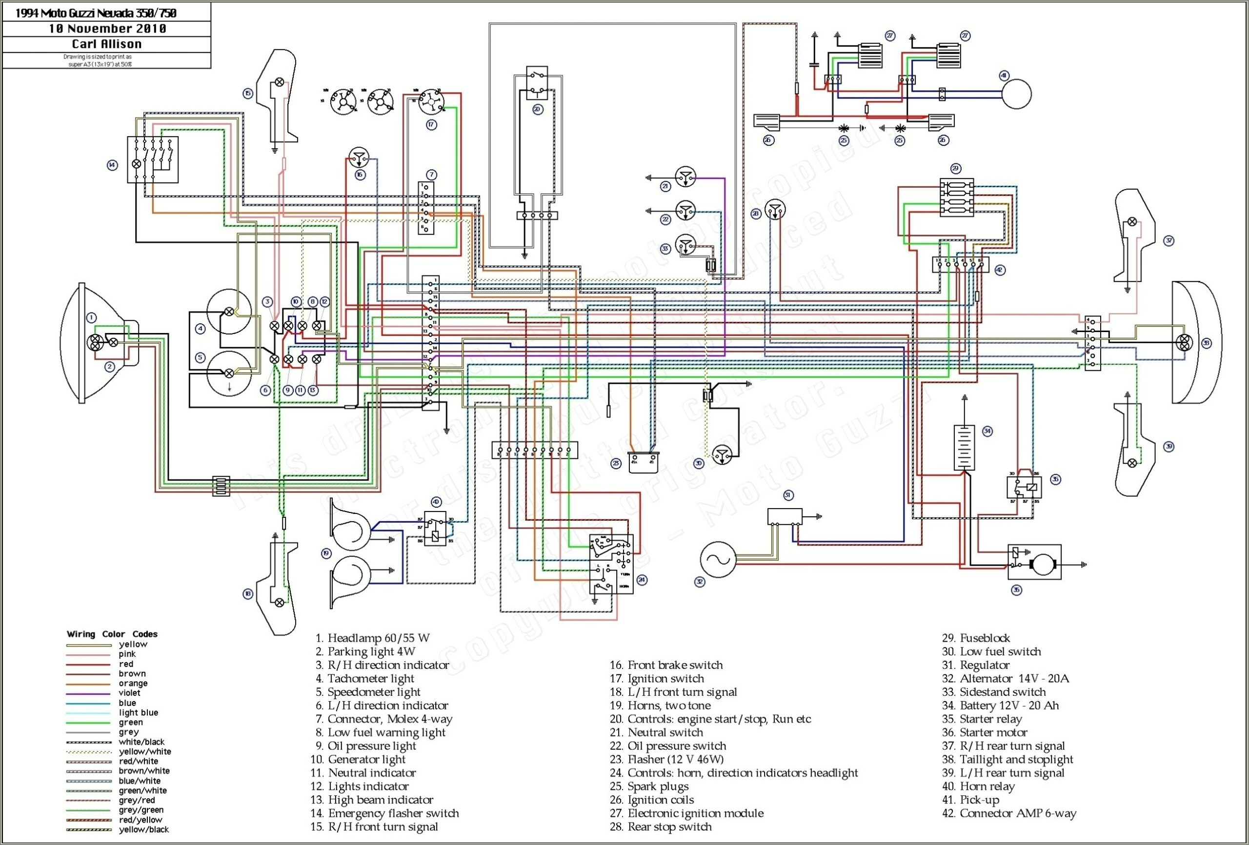 Yamaha Outboard Key Switch Wiring Diagram